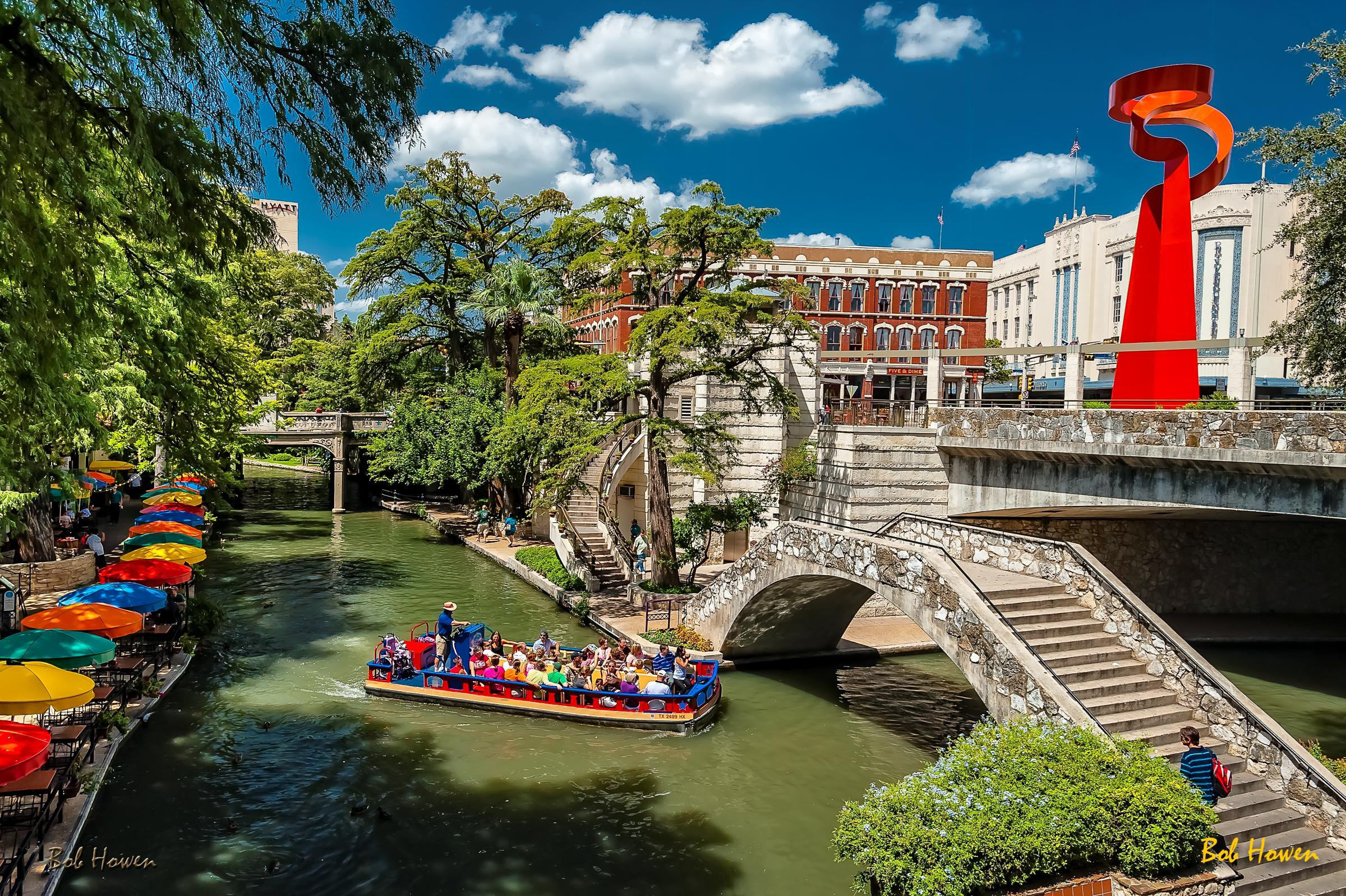 San Antonio, Texas Riverwalk